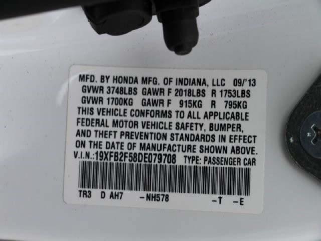 2013 Honda Civic 4D Sedan - 079708 - Image #9