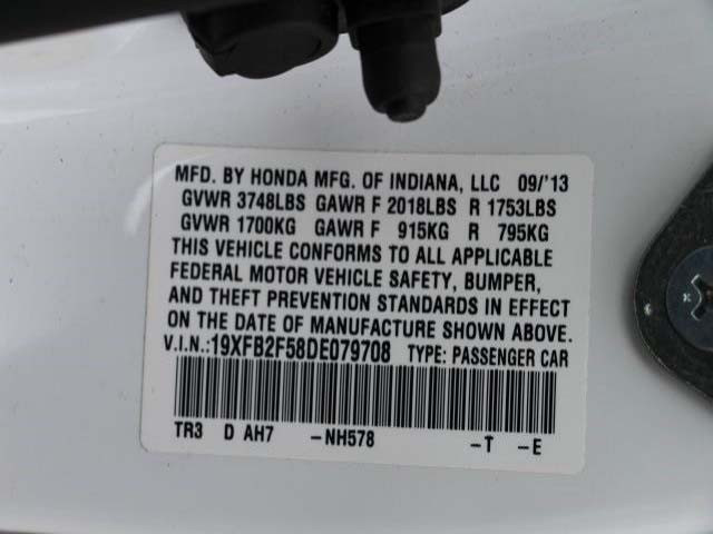 2013 Honda Civic 4D Sedan - 079708 - Image #9