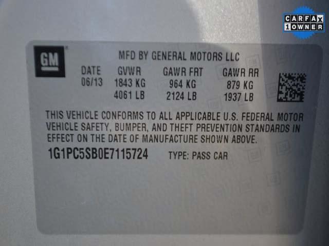 2014 Chevrolet Cruze 4D Sedan - 115724 - Image #9