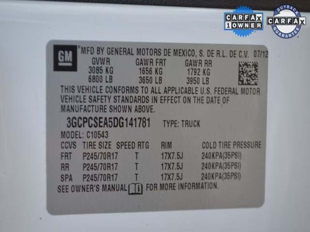 2013 Chevrolet Silverado 1500 4D Crew Cab - 141781 - Image #9