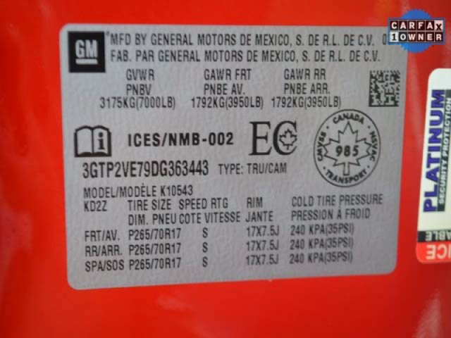 2012 GMC Sierra 1500 SLE 2D Standard Cab  - 363443 - Image #9