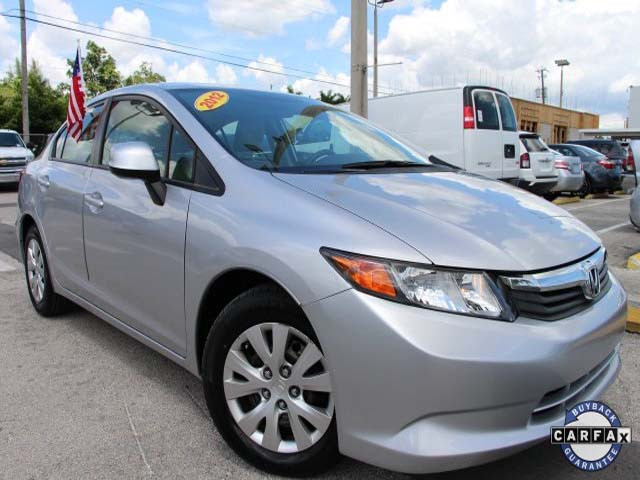 2012 Honda Civic 4D Sedan - 021262 - Image #1