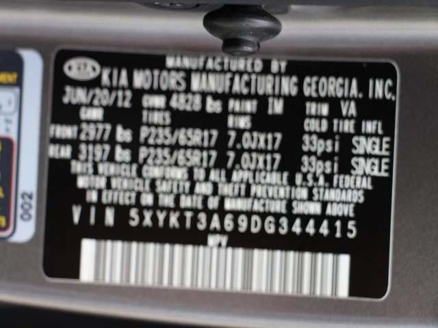 2013 Kia Sorento 4D Sport Utility - 344415 - Image #9
